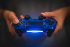 PS4コントローラーの画像